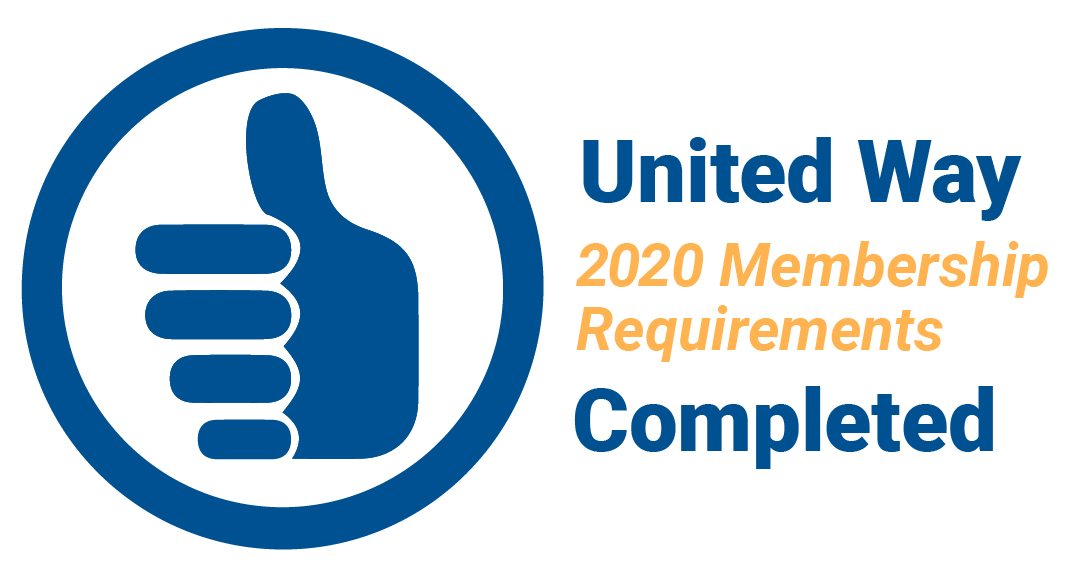 2020 United Way membership