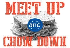 Meet Up and Chow Down logo