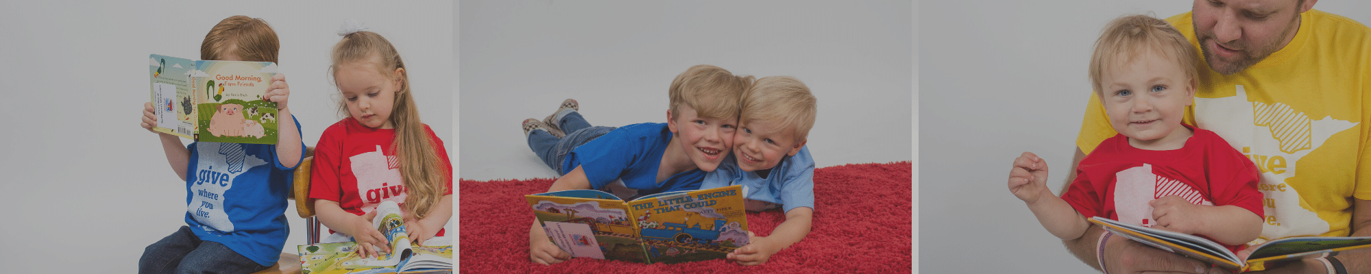 Children with Imagination Library books