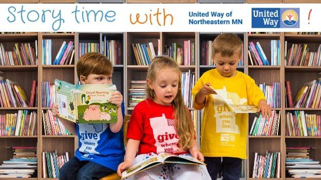 Story Time With UWNEMN videos are posted every Wednesday at 10 am this summer