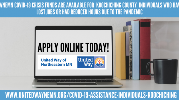 UWNEMN Koochiching County online application graphic